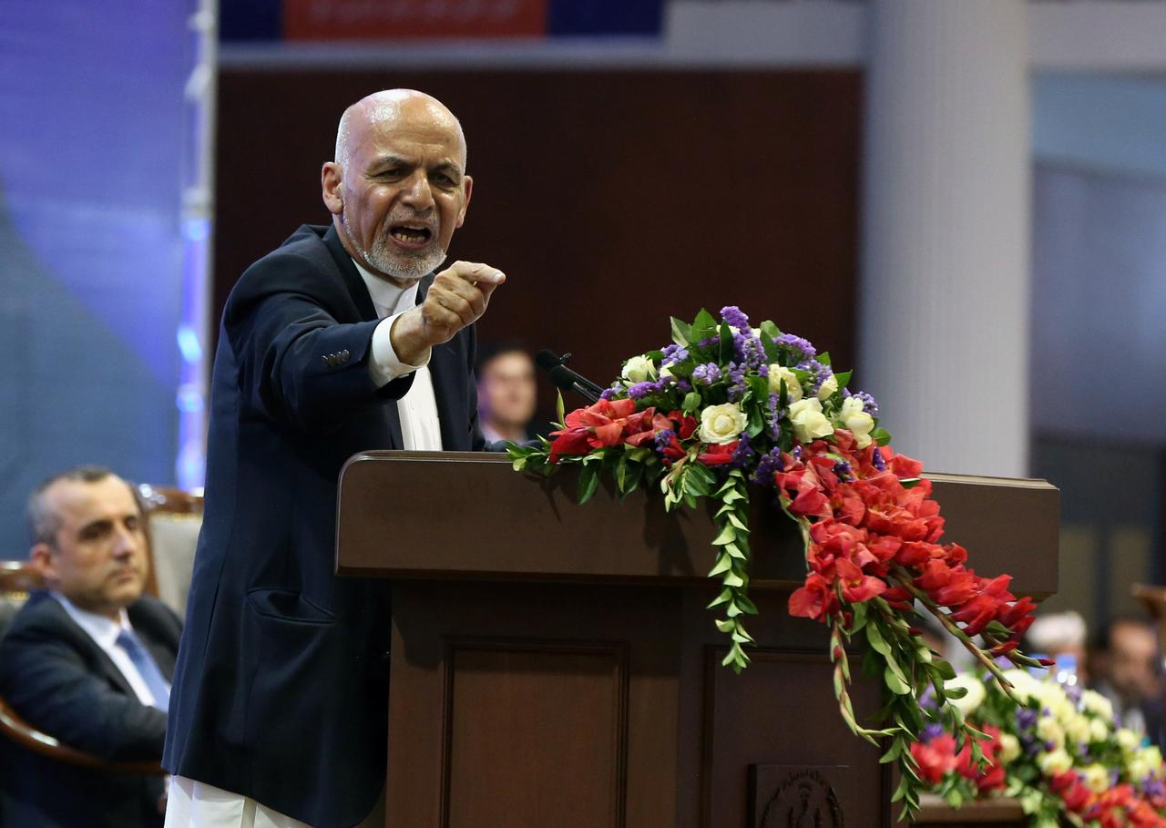 Afghan president launches re-election bid amid worsening