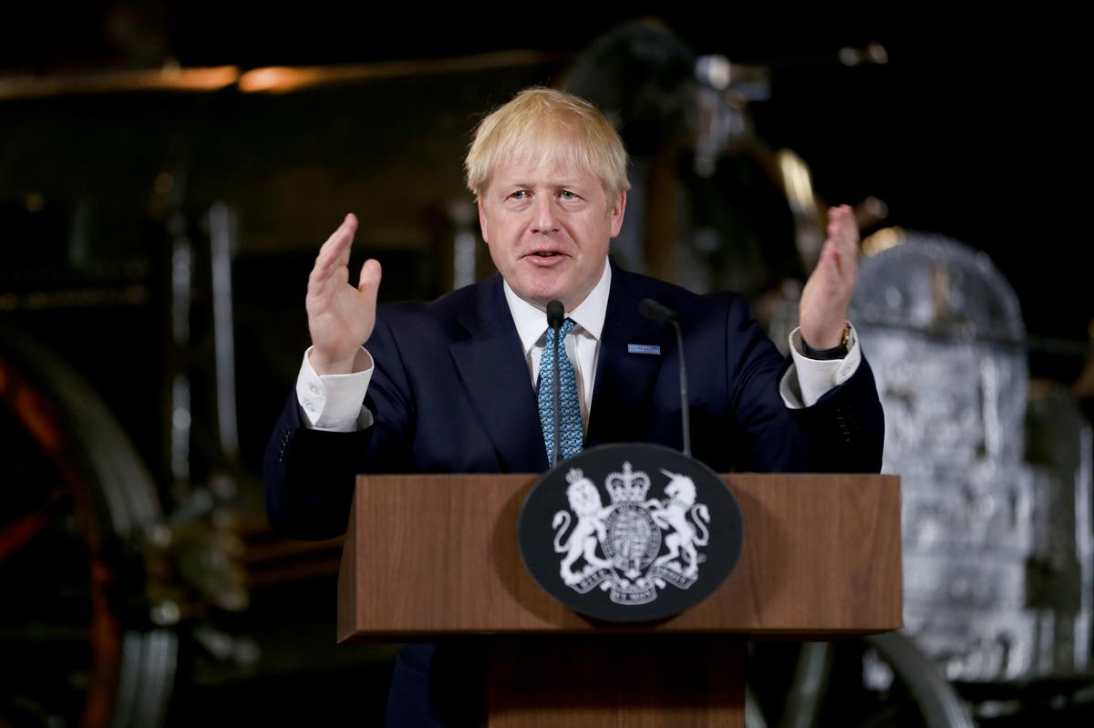 PM Johnson heads to Northern Ireland, Brexit's toughest riddle