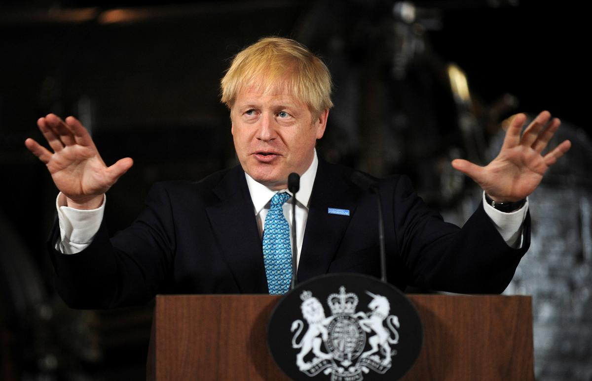 UK PM Johnson heads to Northern Ireland, Brexit's toughest riddle