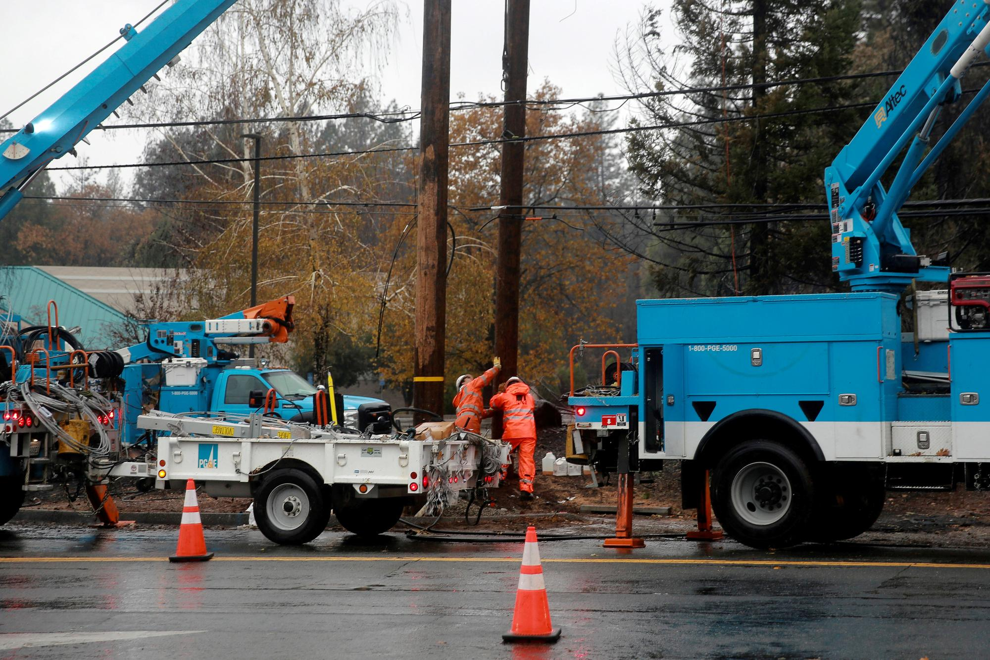 PG&E says it 'strongly disagrees' delayed maintenance played role in Camp Fire