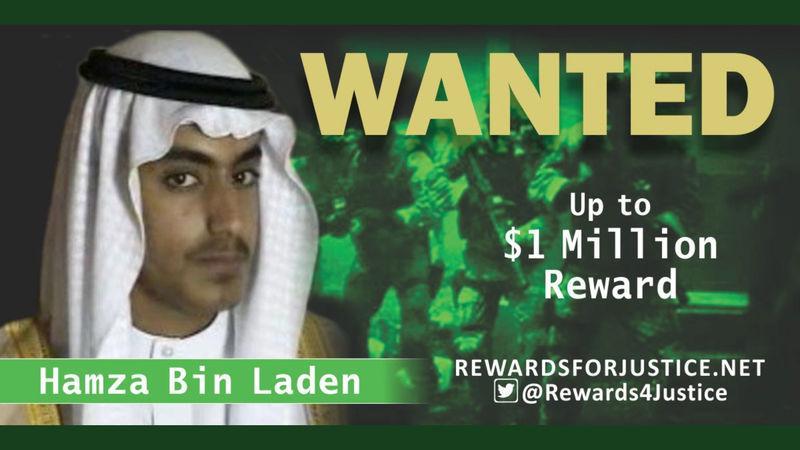 EEUU cree Hamza bin Laden, el hijo de Osama, está muerto