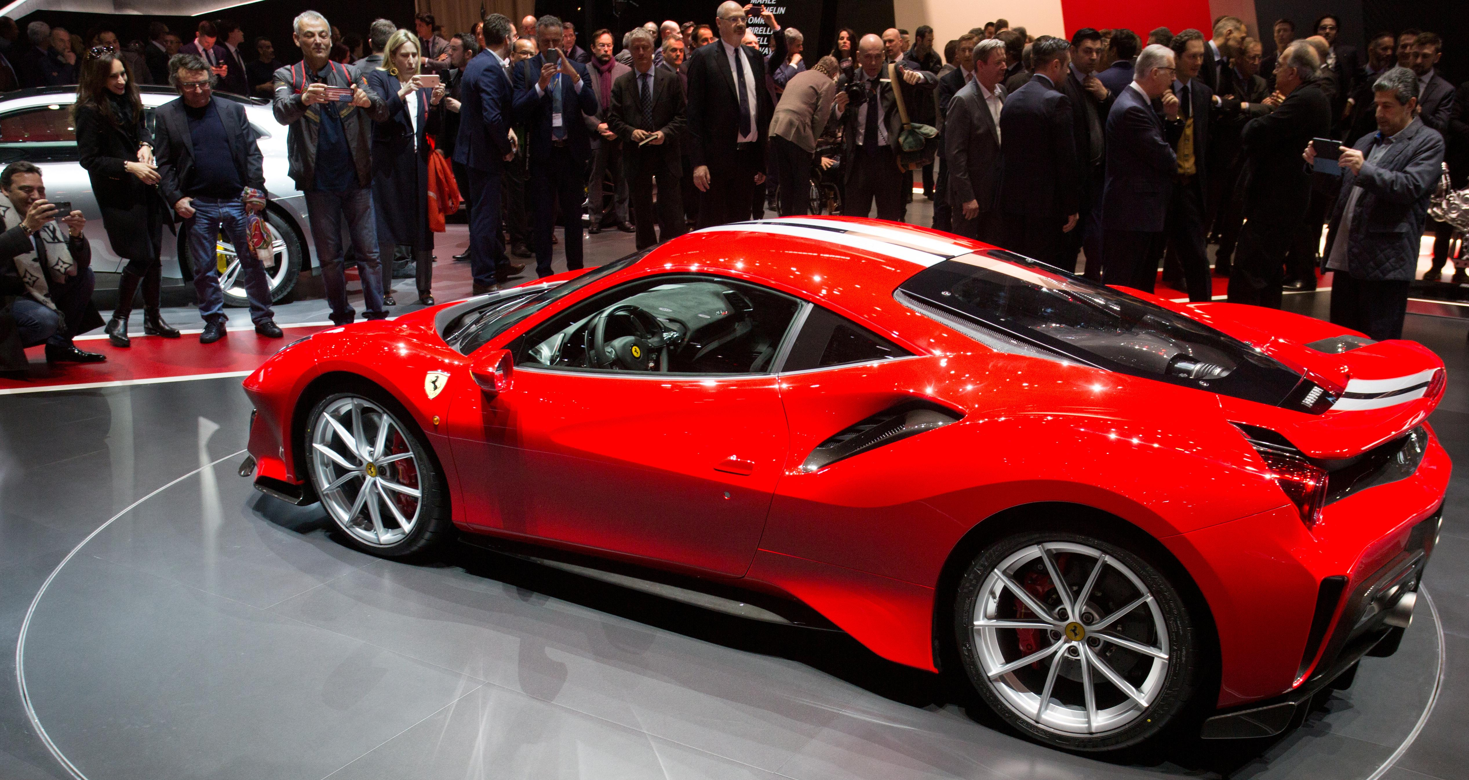 Ferrari shares fall after it fails to upgrade guidance despite earnings rise