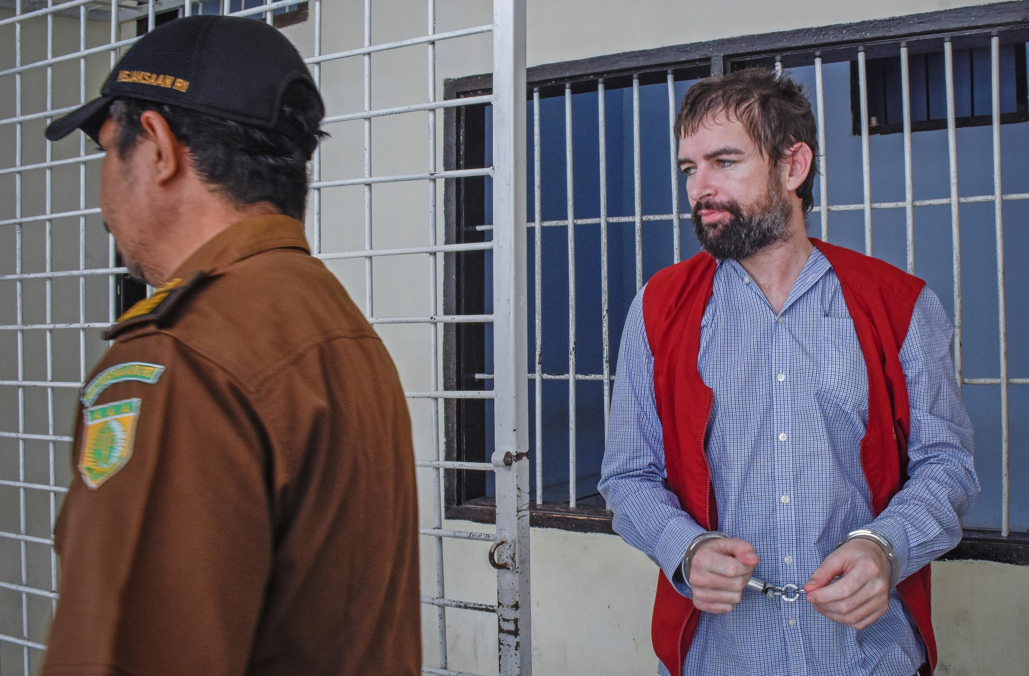 Indonesian court commutes Frenchman's death sentence for drugs to 19 years