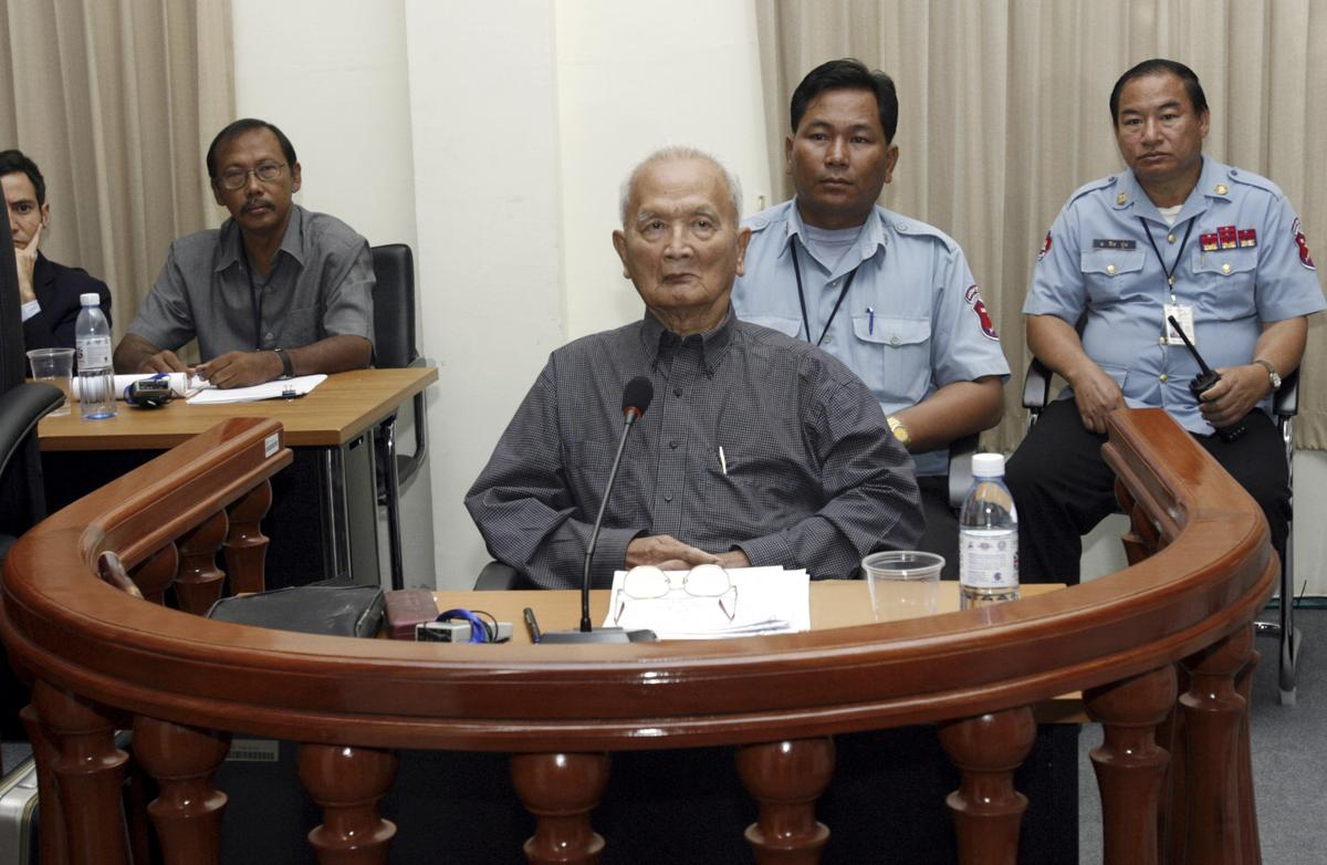 Image result for Cambodian Khmer Rouge's chief ideologist, 'Brother Number Two', dead at 93