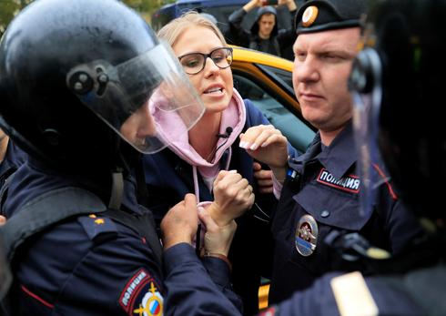 Russian police detain over 1,000 in opposition crackdown in Moscow