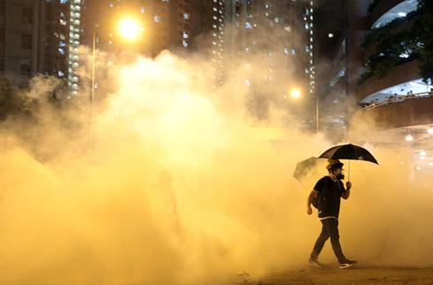 Hong Kong again roiled by protests