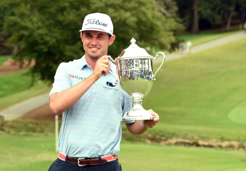 Poston wins Wyndham Championship without dropping shot - Reuters