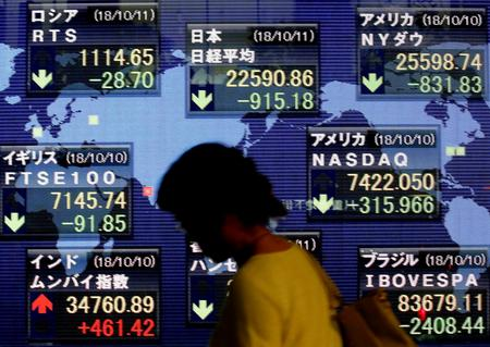 Asia stocks hit six-month lows, bonds boom amid market shakeout
