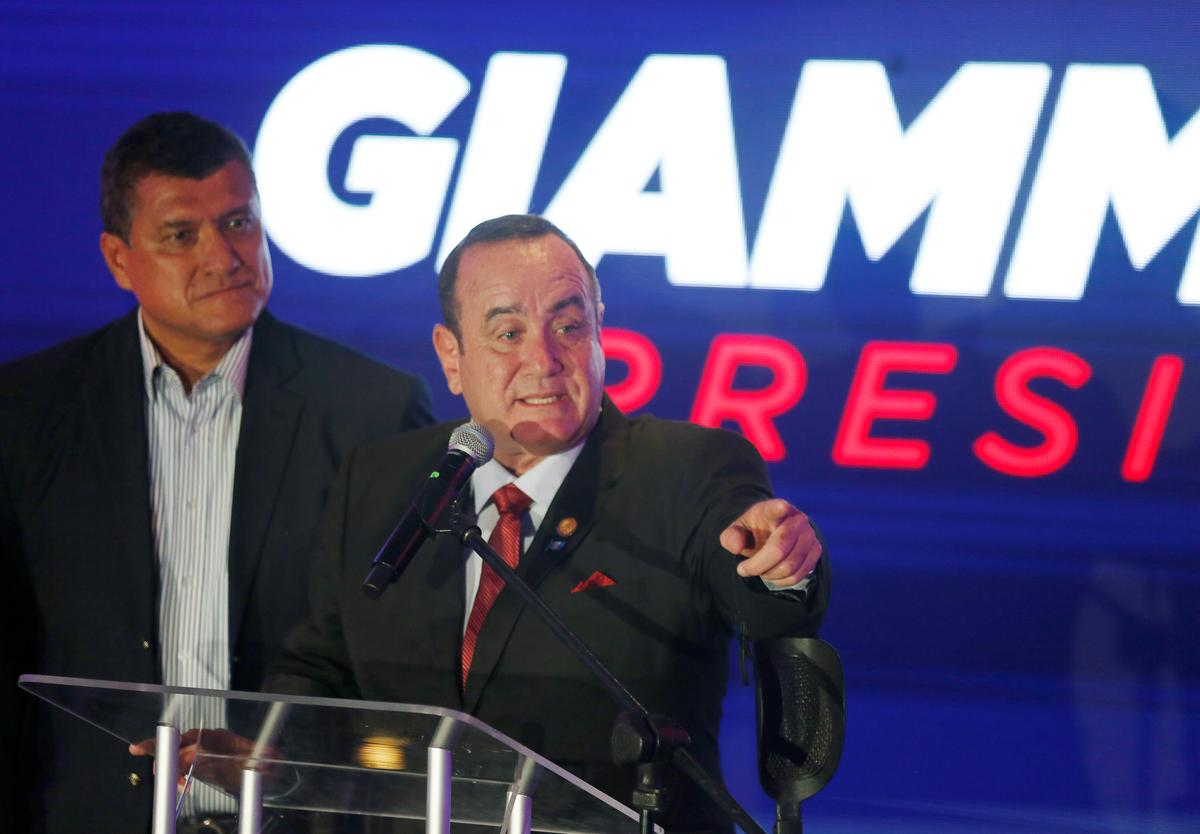 Guatemalan conservative claims victory in presidential election