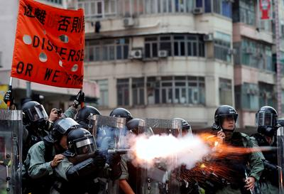 Hong Kongers take to streets in weekend of anti-government protests