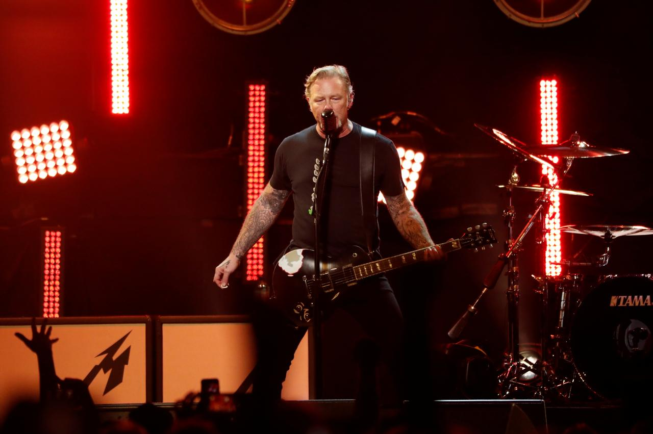 Heavy metal band Metallica donates 250,000 euros for