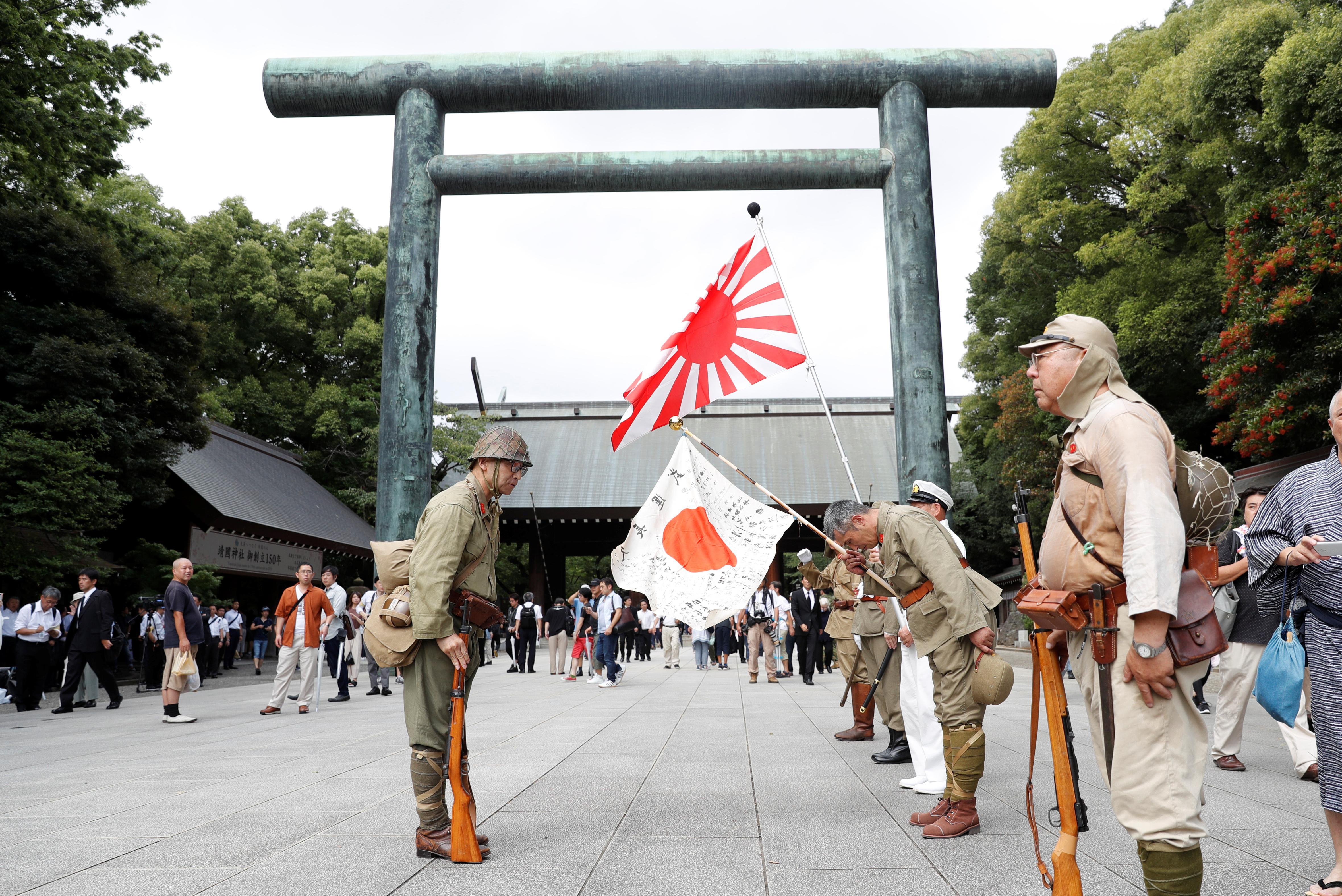 Japan PM Abe sends offering to Yasukuni shrine for war dead: Kyodo