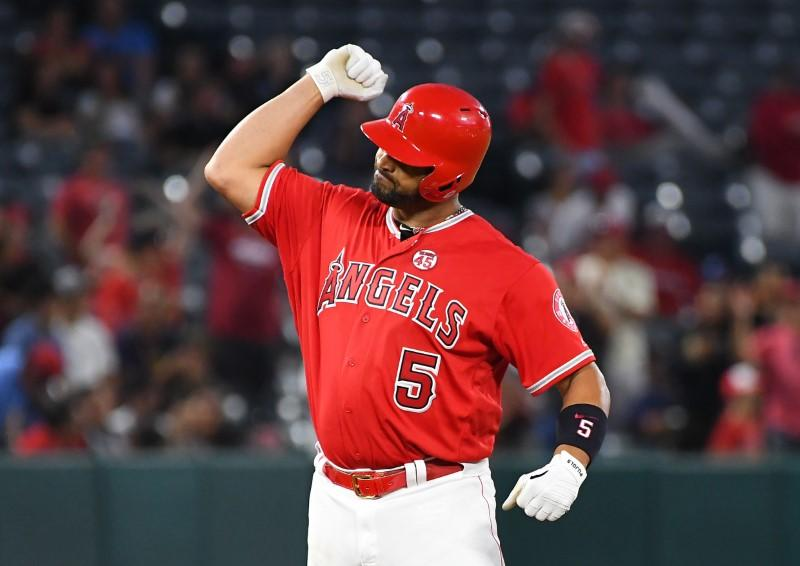 MLB roundup: Pujols passes Beltre in Angels' win