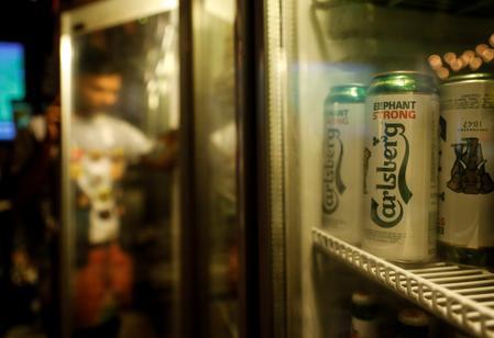 Premium brews in Asia stoke Carlsberg's half-year sales