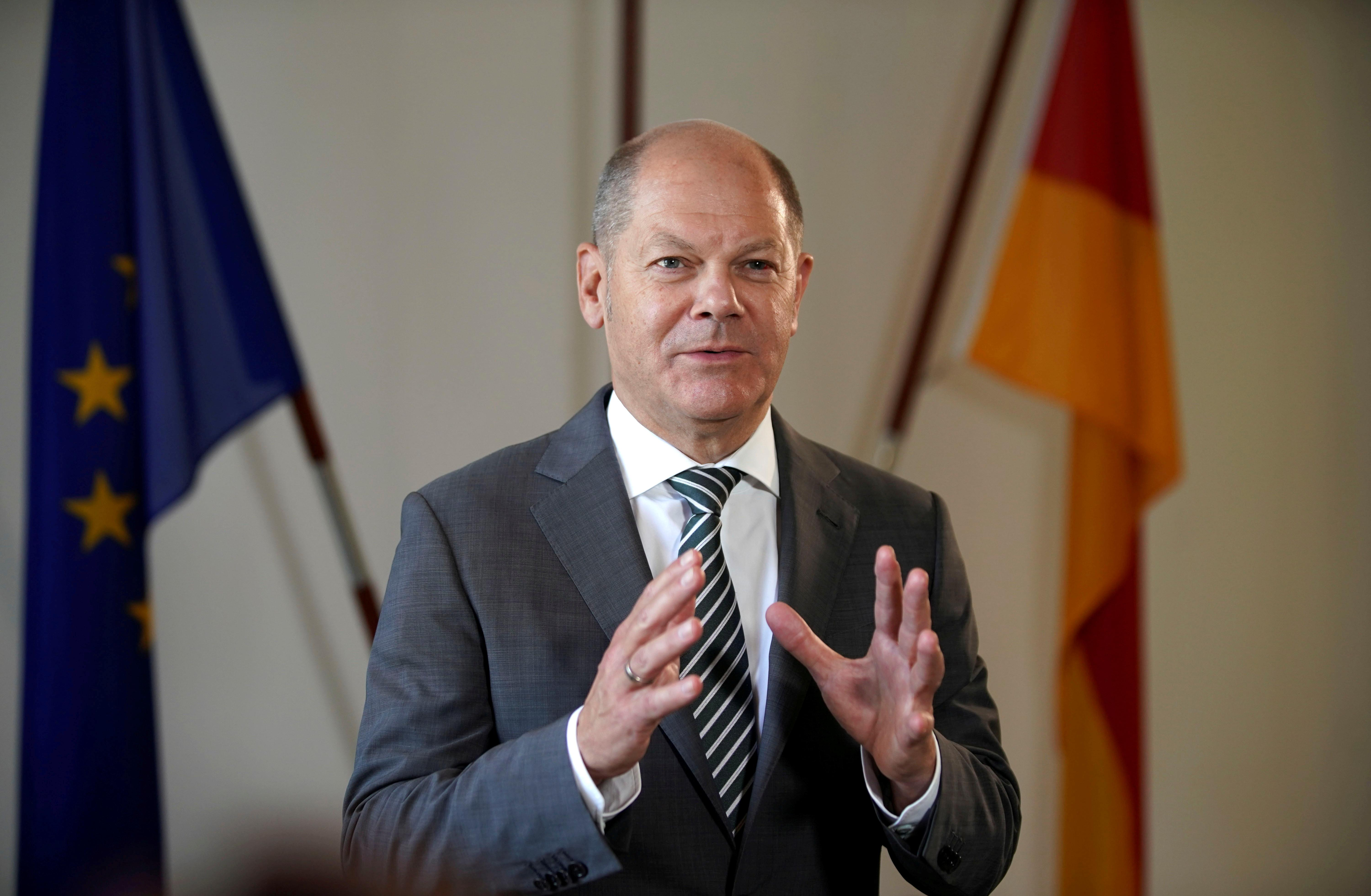 German finance minister Scholz to run for SPD leadership