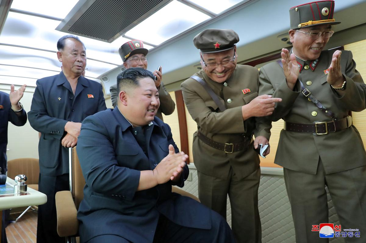 North Korea's Kim oversaw the test-firing of new weapon again: KCNA