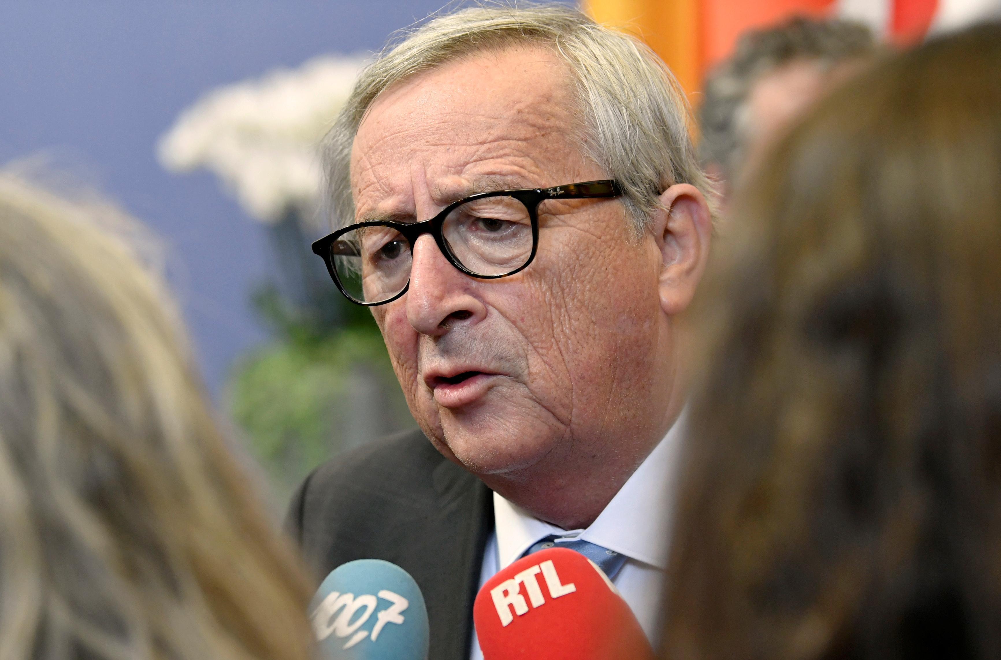 EU's Juncker cuts holiday short for urgent surgery - statement