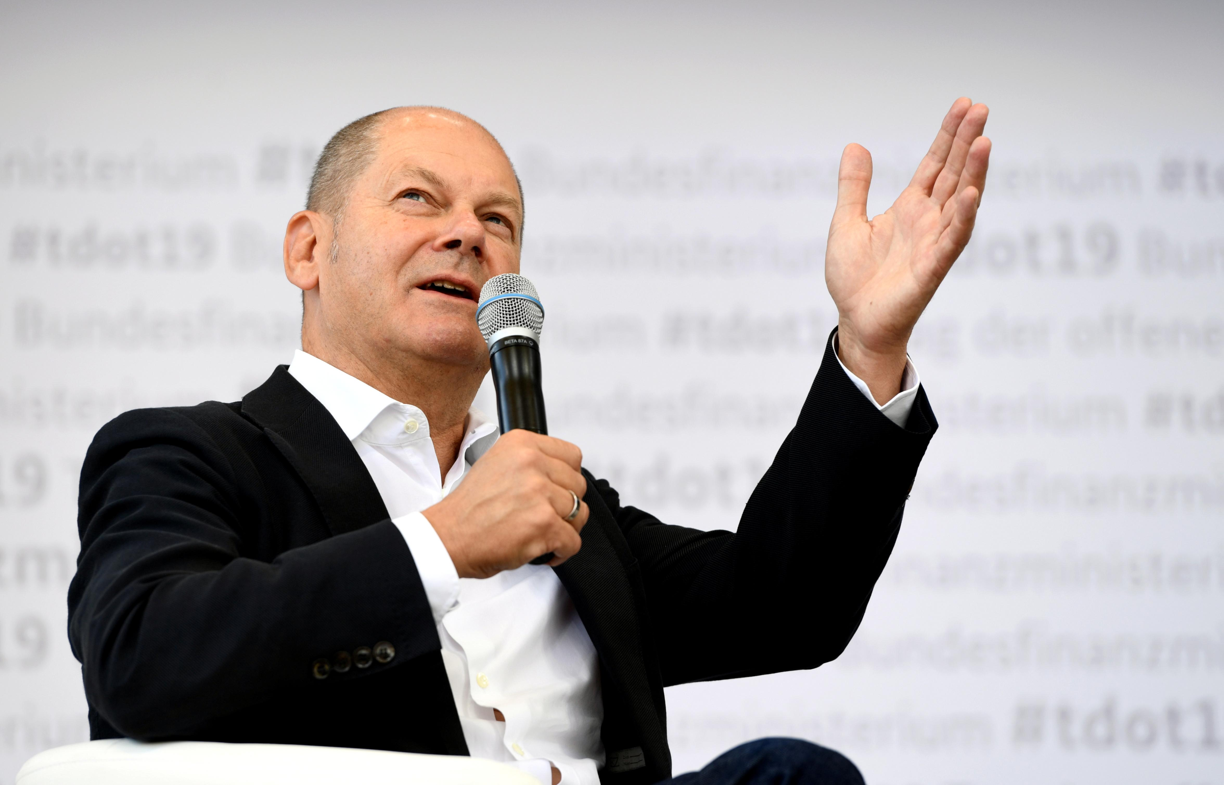 Germany has fiscal muscle to counter next crisis: Scholz