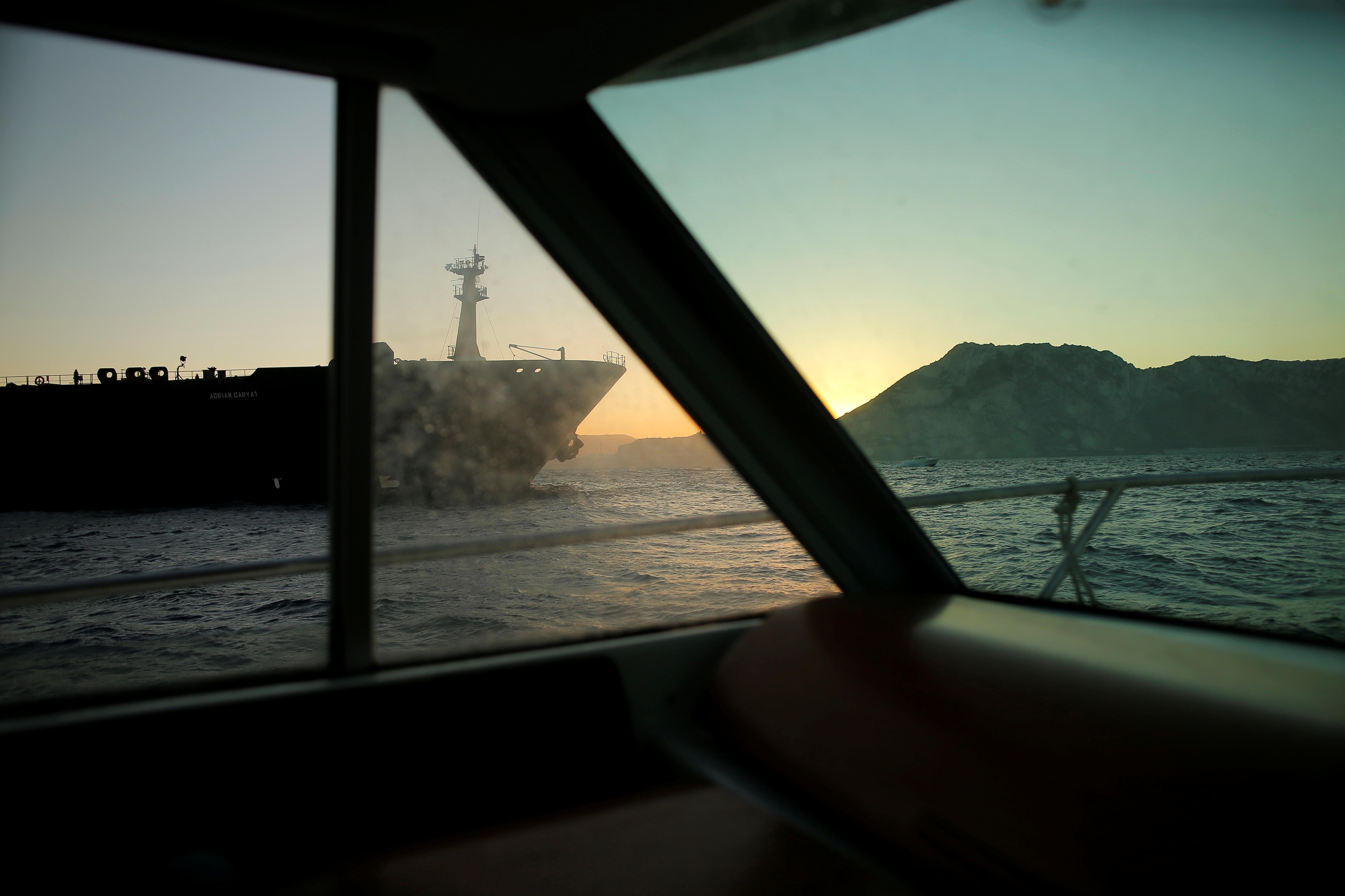 Un pétrolier iranien au centre du bras de fer avec l'ouest quitte Gibraltar, selon des données d'expédition