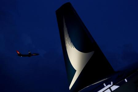 Cathay Pacific shares rise 2.3 percent after CEO Hogg resigns