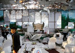 Islamic State blast at Afghan wedding