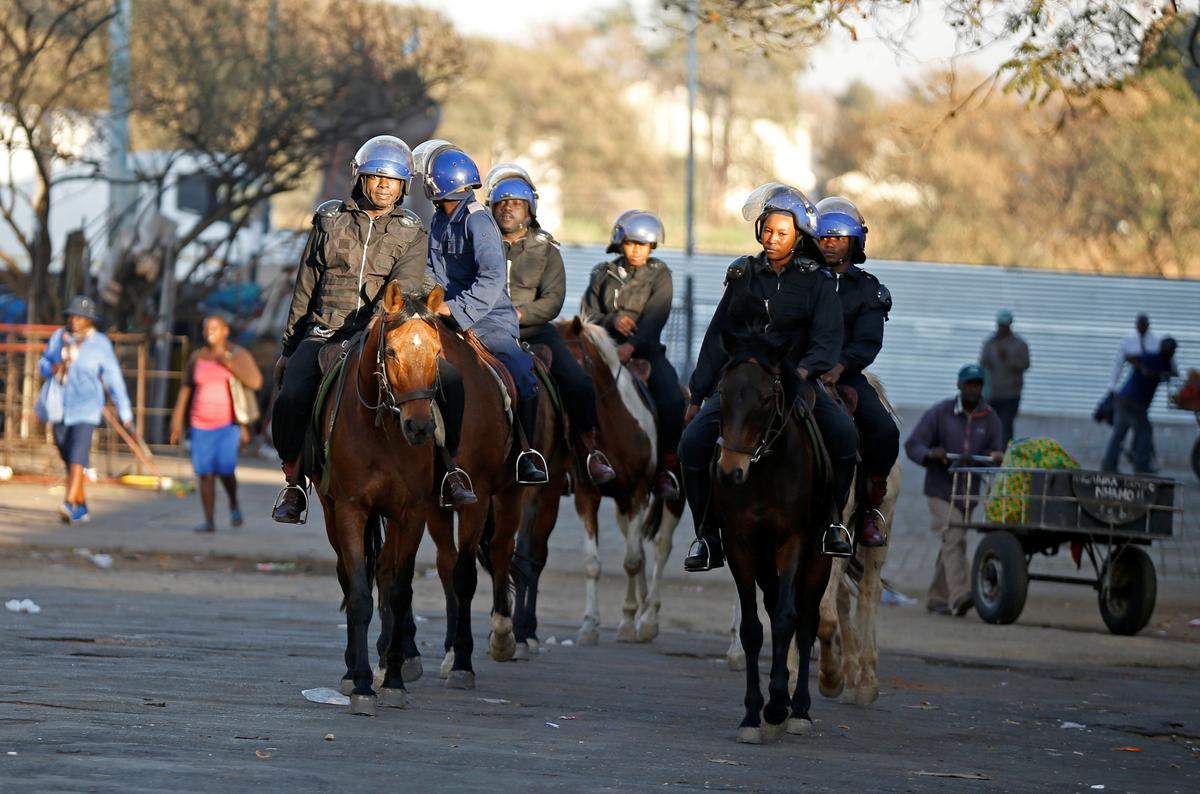 Die polisie in Zimbabwe verbied opposiseprotes wat vir Maandag beplan word