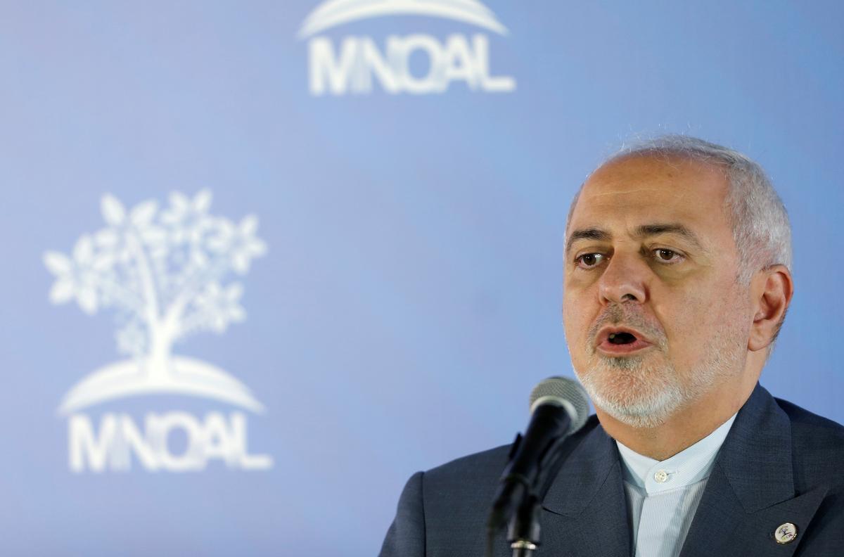 Iran se Zarif sluit gesprekke met die VSA uit oor 'n nuwe kernooreenkoms