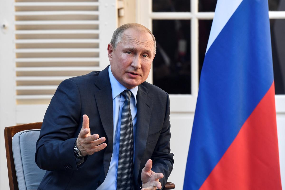 Poetin sê geen risiko vir verhoogde bestraling ná die ontploffing van vuurpyle nie