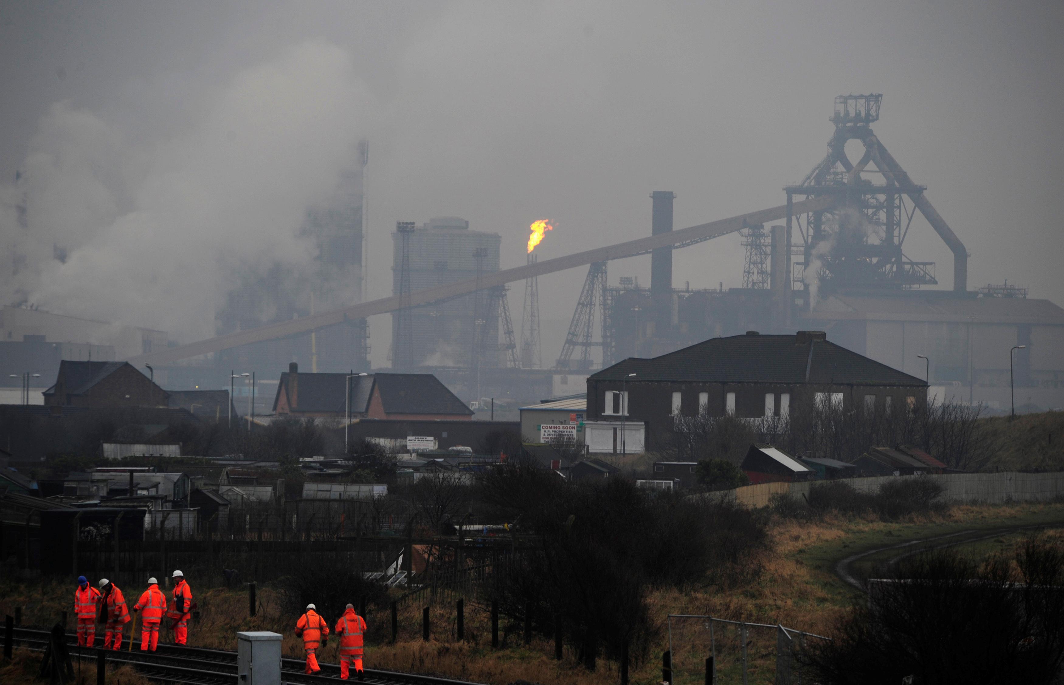 UK factory slump eases a little in August: CBI