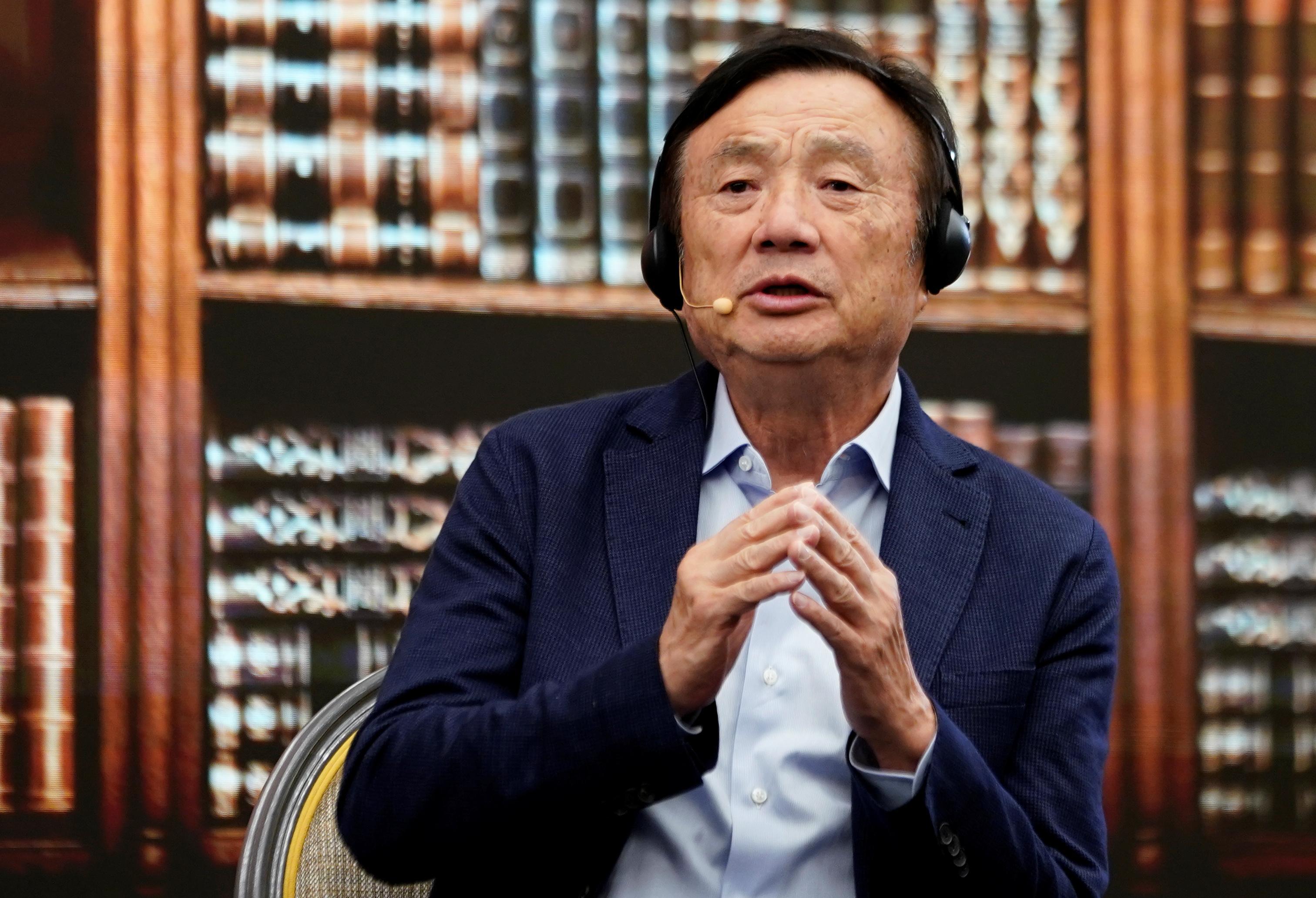 Huawei founder details 'battle mode' reform plan to beat U.S. crisis