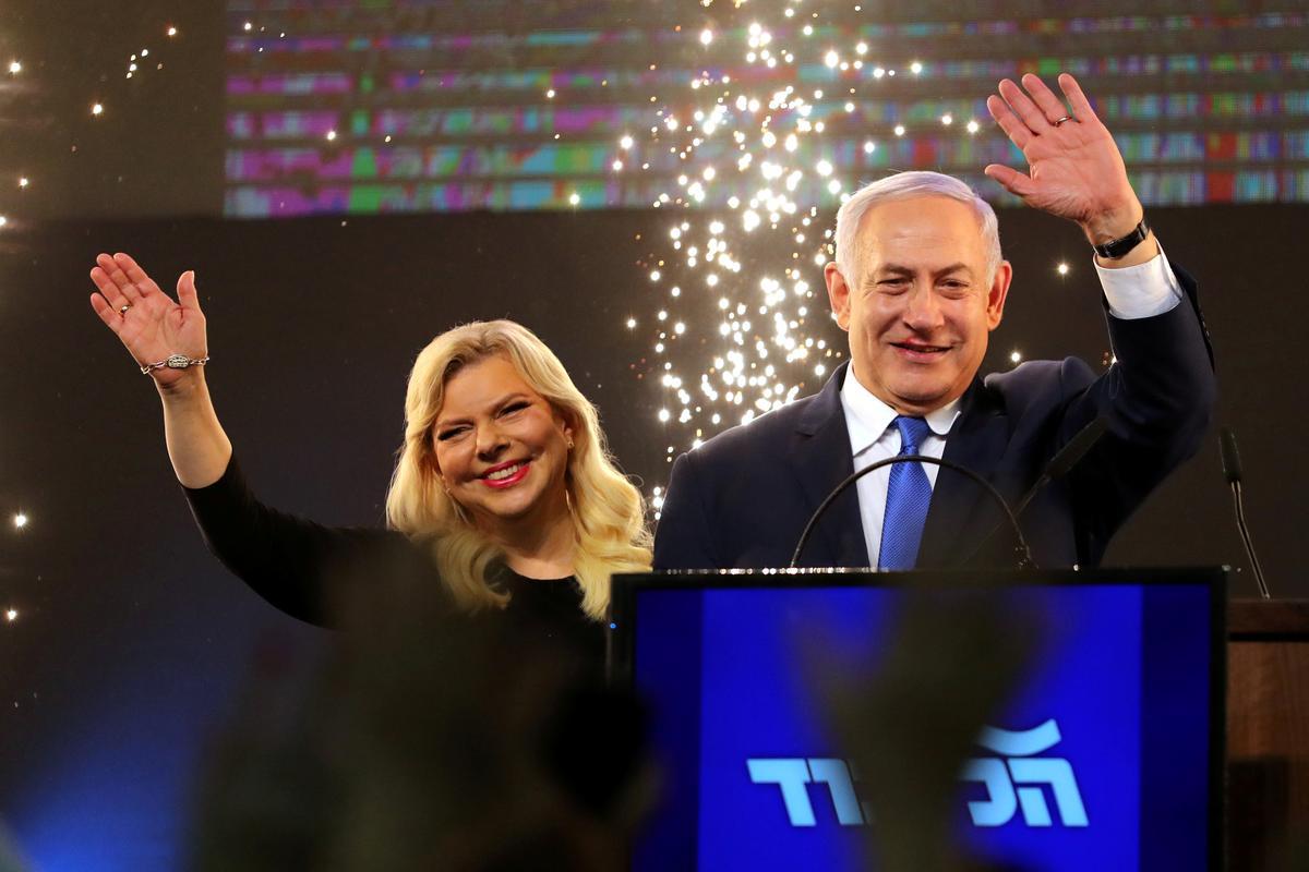 Leiers verwerp die Oekraïense broodblaser Sara Netanyahu