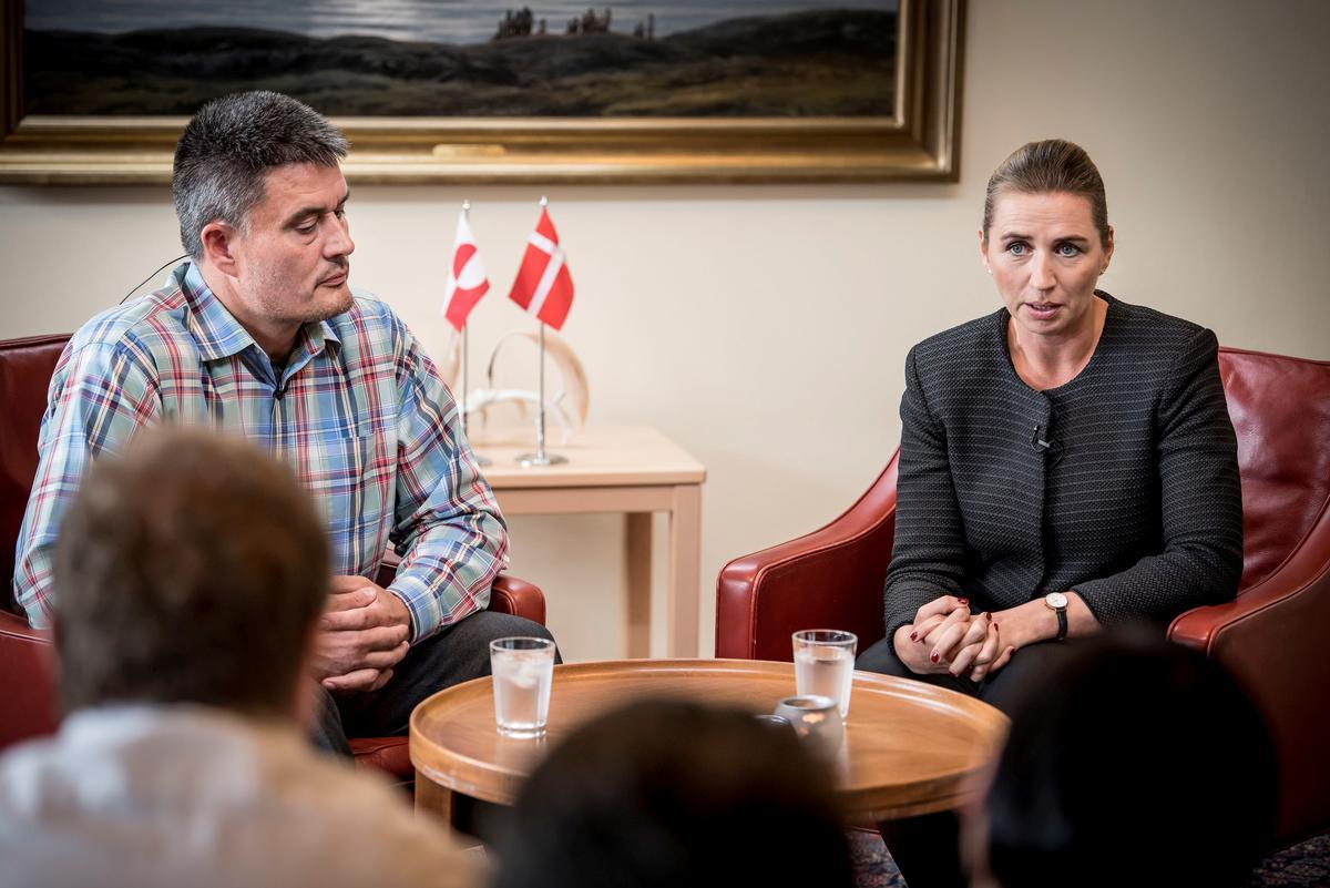 Trump roep die vergadering met die Deense premier oor die kommentaar van Groenland af