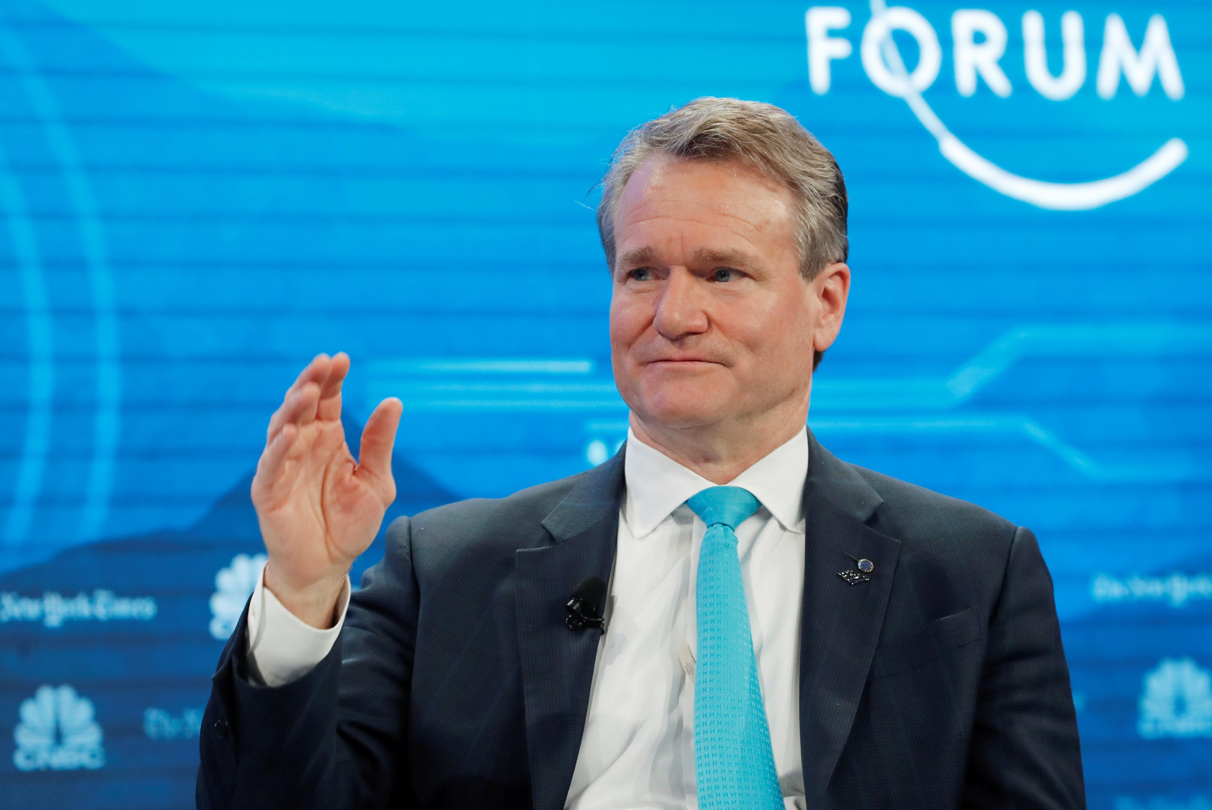 BofA CEO Moynihan plays down fears of U.S. recession: CNBC