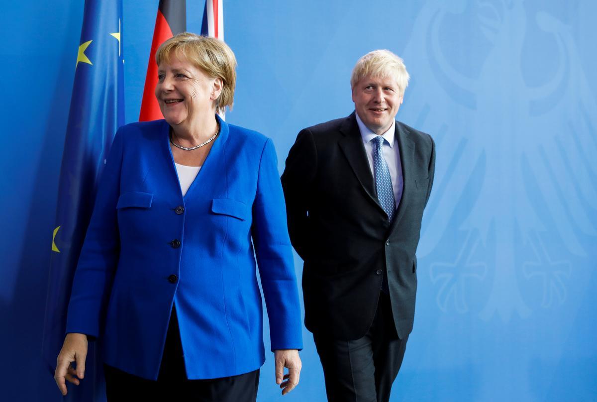 Merkel: Met verbeelding kan die Ierse 'backstop'-kwessie binne 30 dae opgelos word