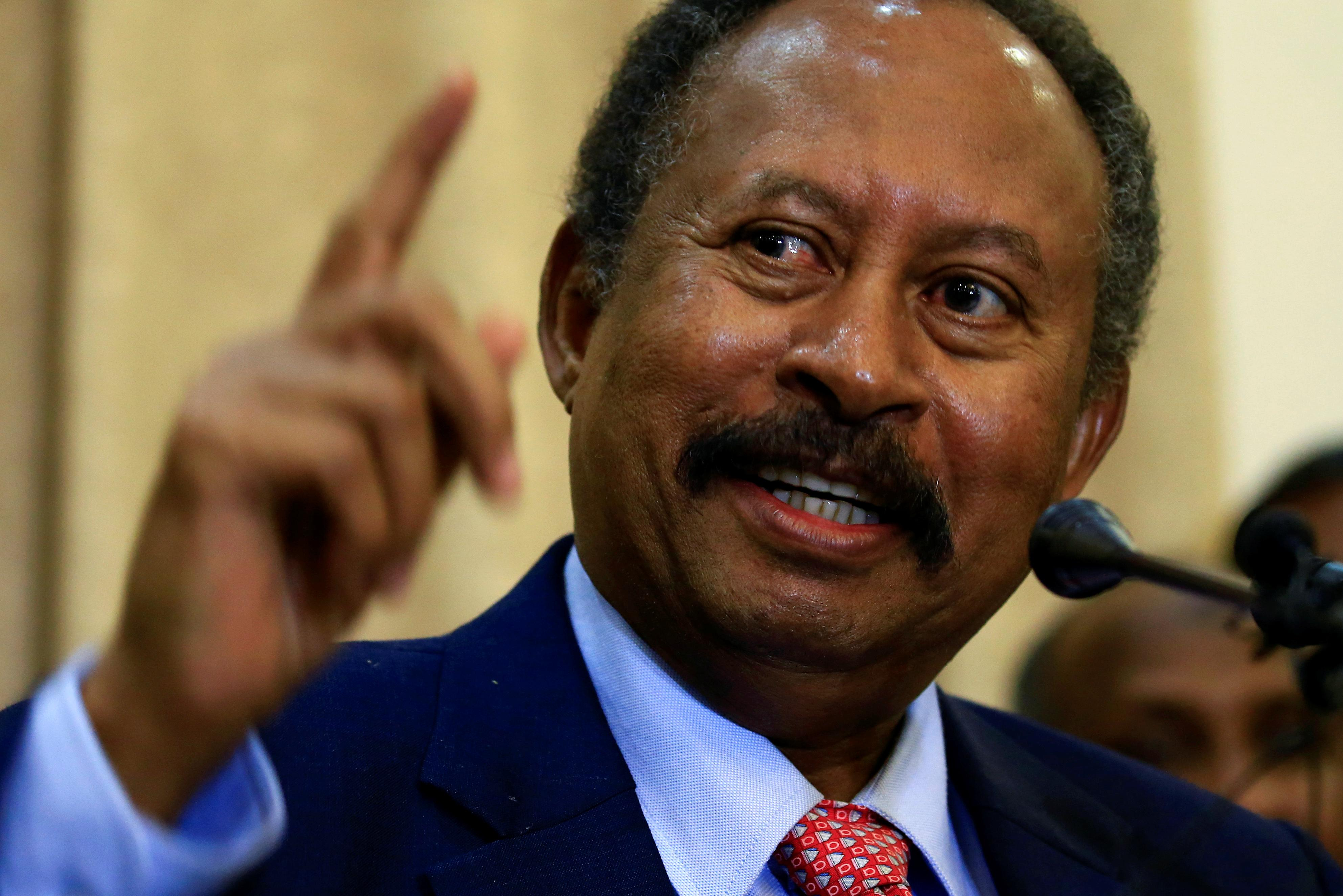 Sudan's Hamdok takes office as new prime minister, vows to tackle conflicts and economy