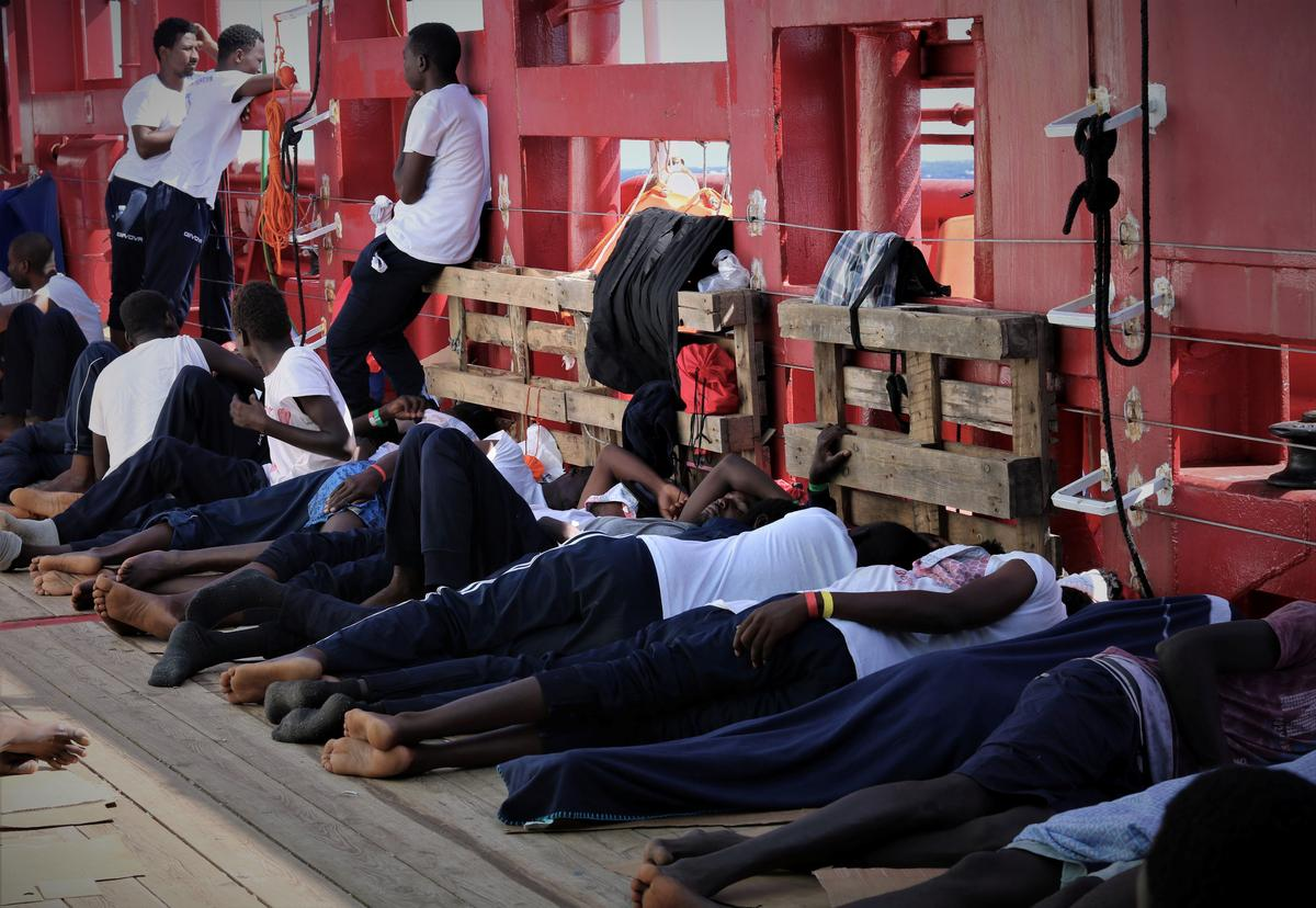 Ocean Viking rescue ship awaits port access in latest migrant standoff