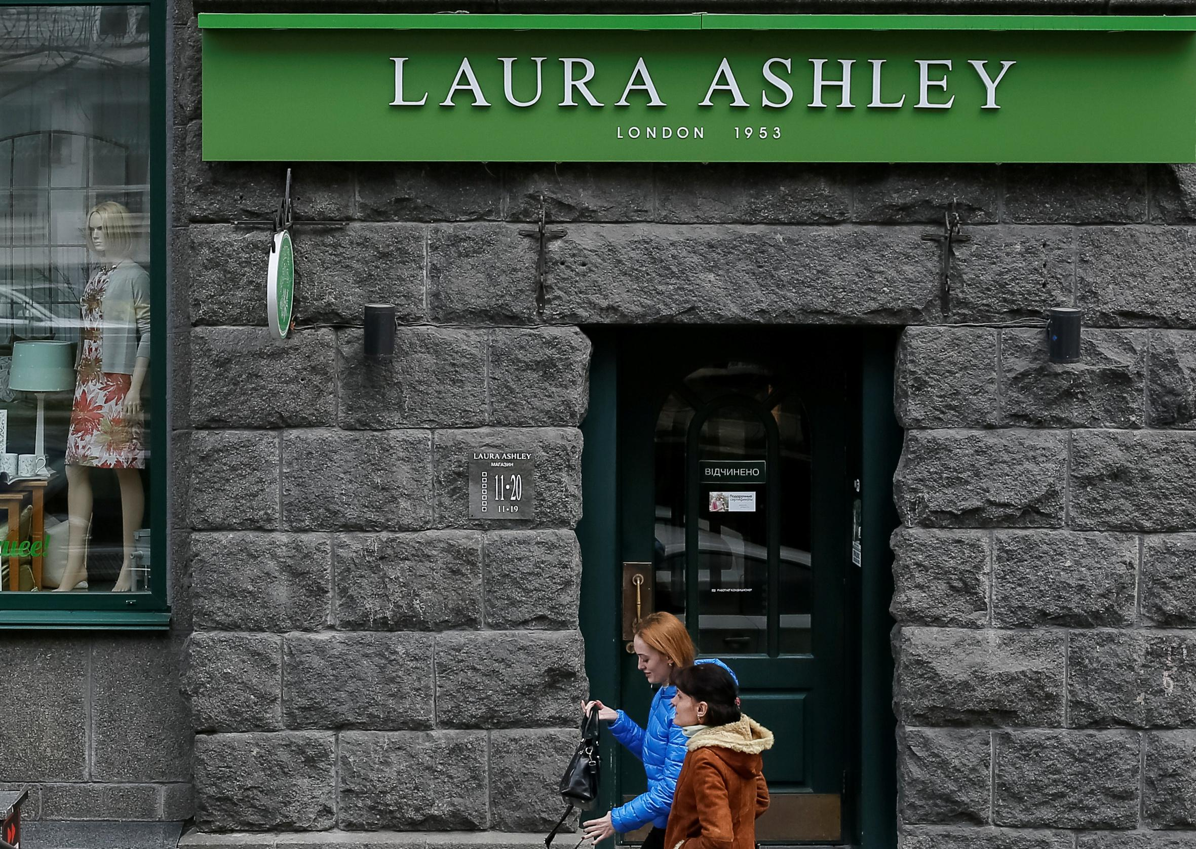 Laura Ashley posts 10 million pound loss as furniture sales sag