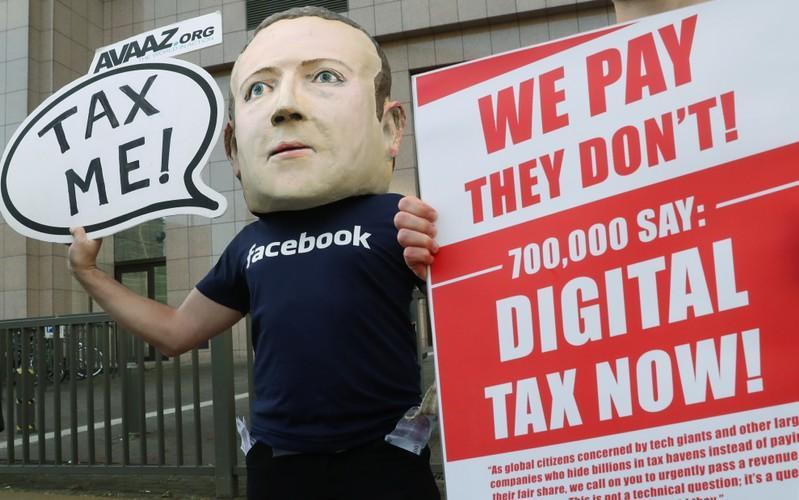 Breakingviews - Breakdown: The global fight over Big Tech's taxes