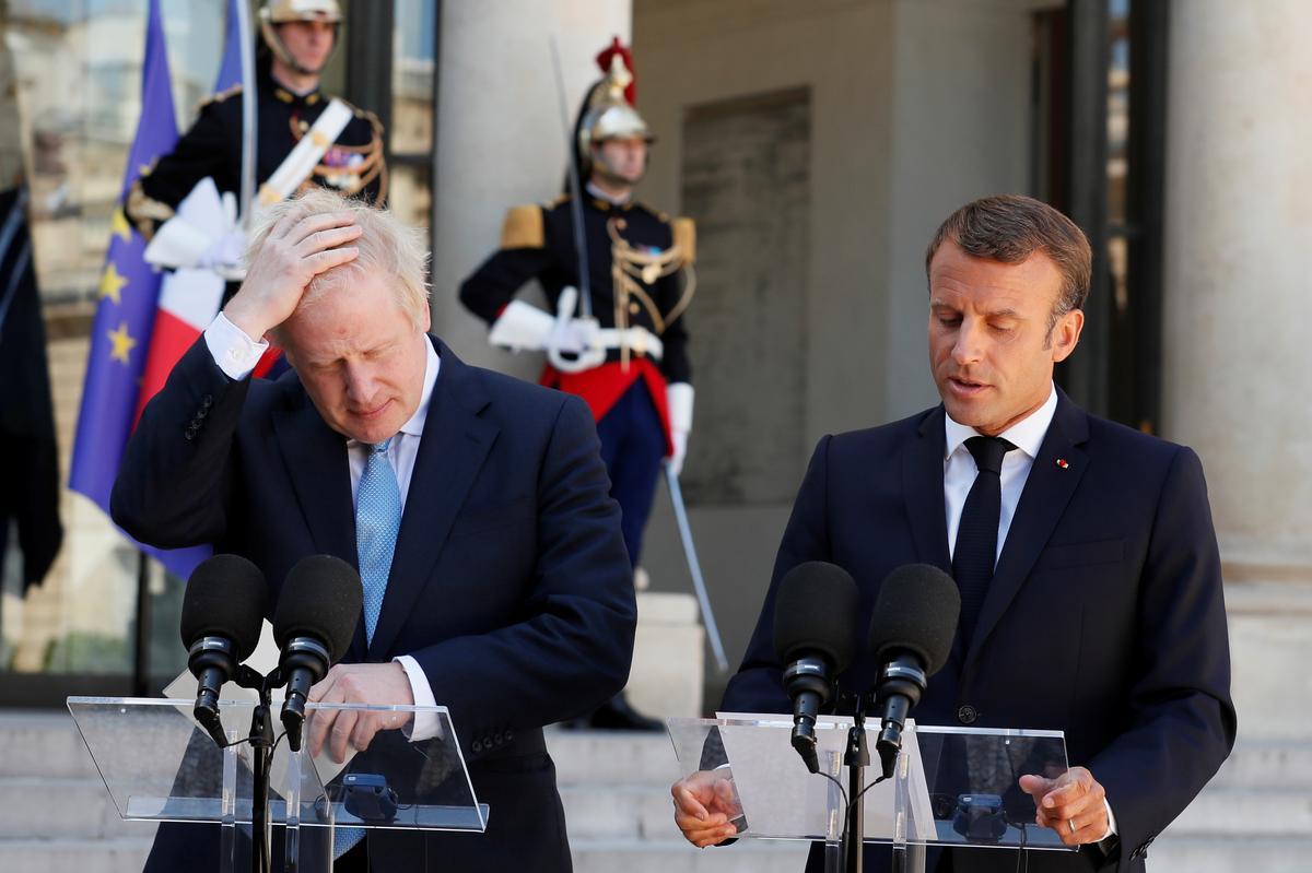 Frankryk se Macron tot Johnson: die lot van Brittanje is u keuse alleen
