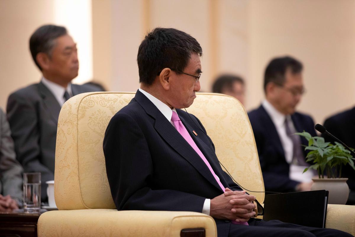 Die minister van buitelandse sake in Japan sê dat Suid-Korea se beweging 'heeltemal verkeerde reaksie'