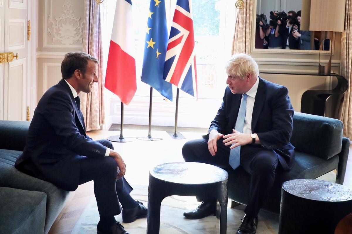 Die Franse Macron, Johnson, sê te veel vir die nuwe Brexit-transaksie