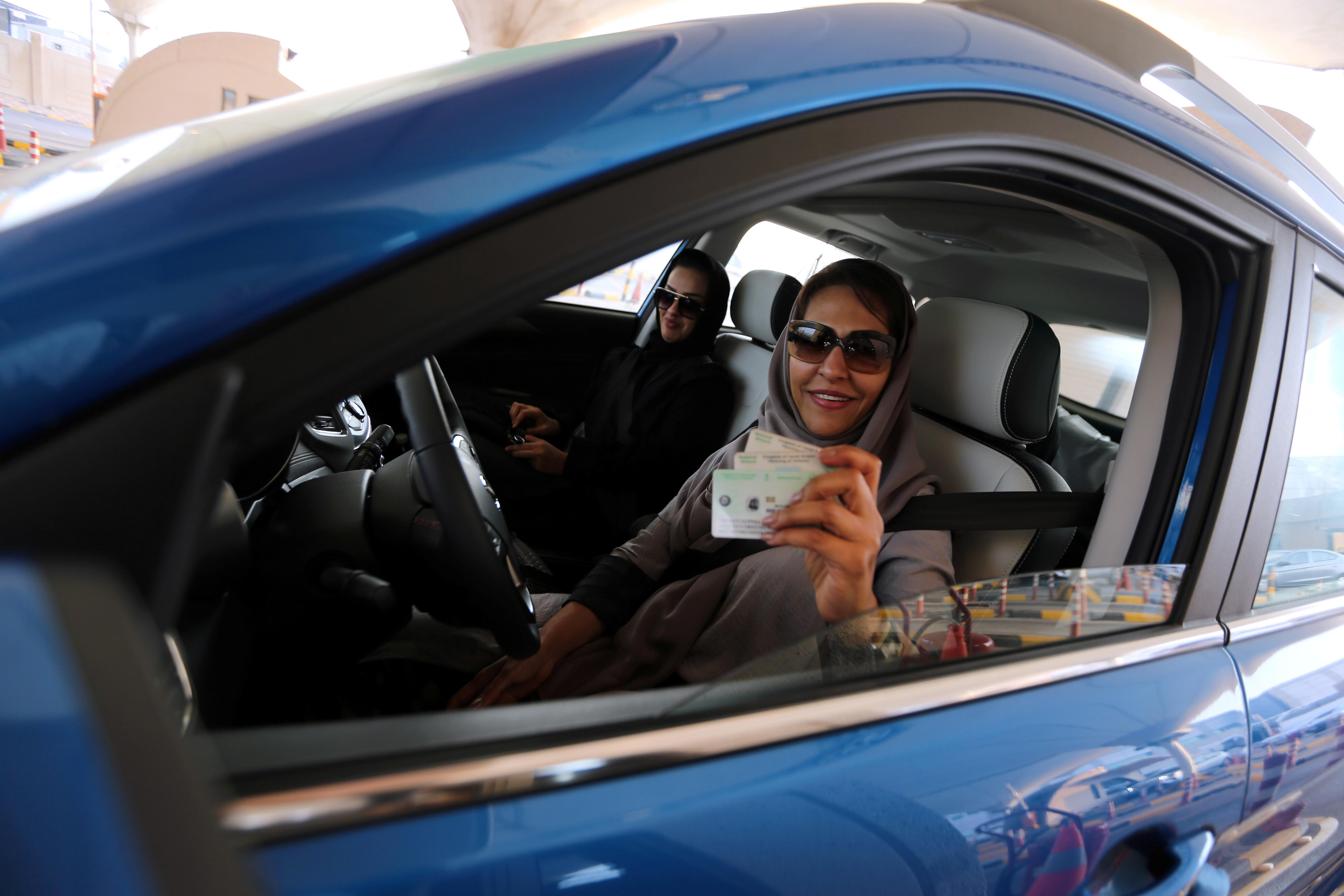 Cleared for takeoff: Saudi women start exercising their newest right
