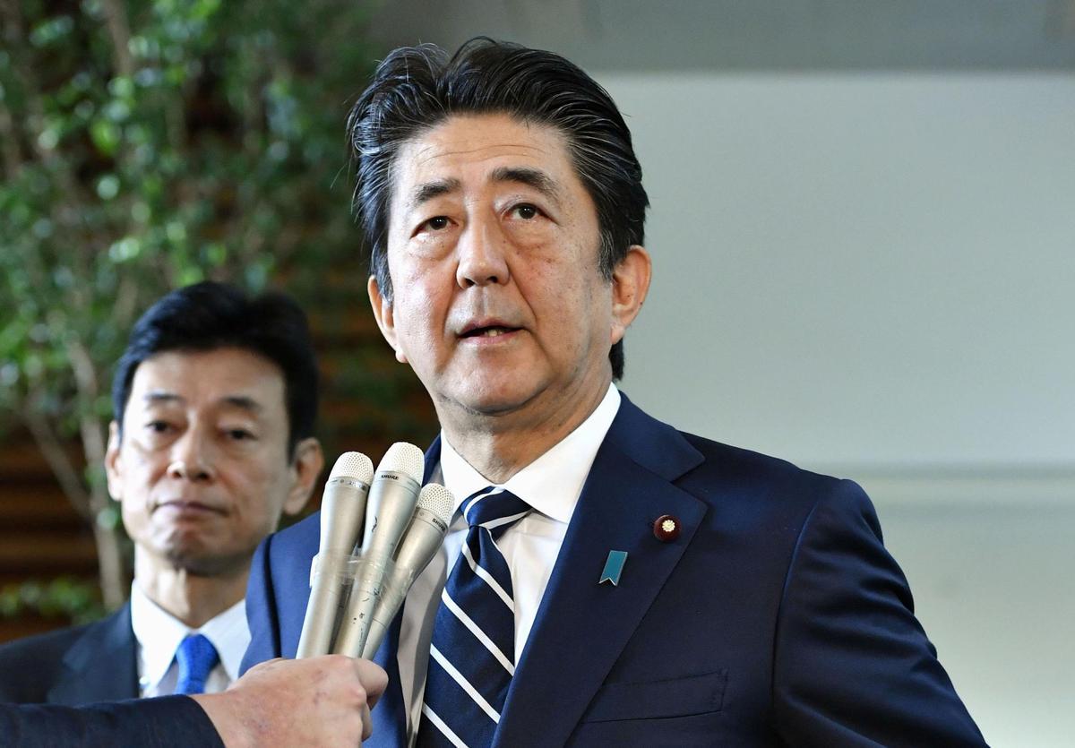 Die premier van Japan herhaal dat Tokio wil hê dat Suid-Korea sy beloftes moet nakom en die vertroue herbou