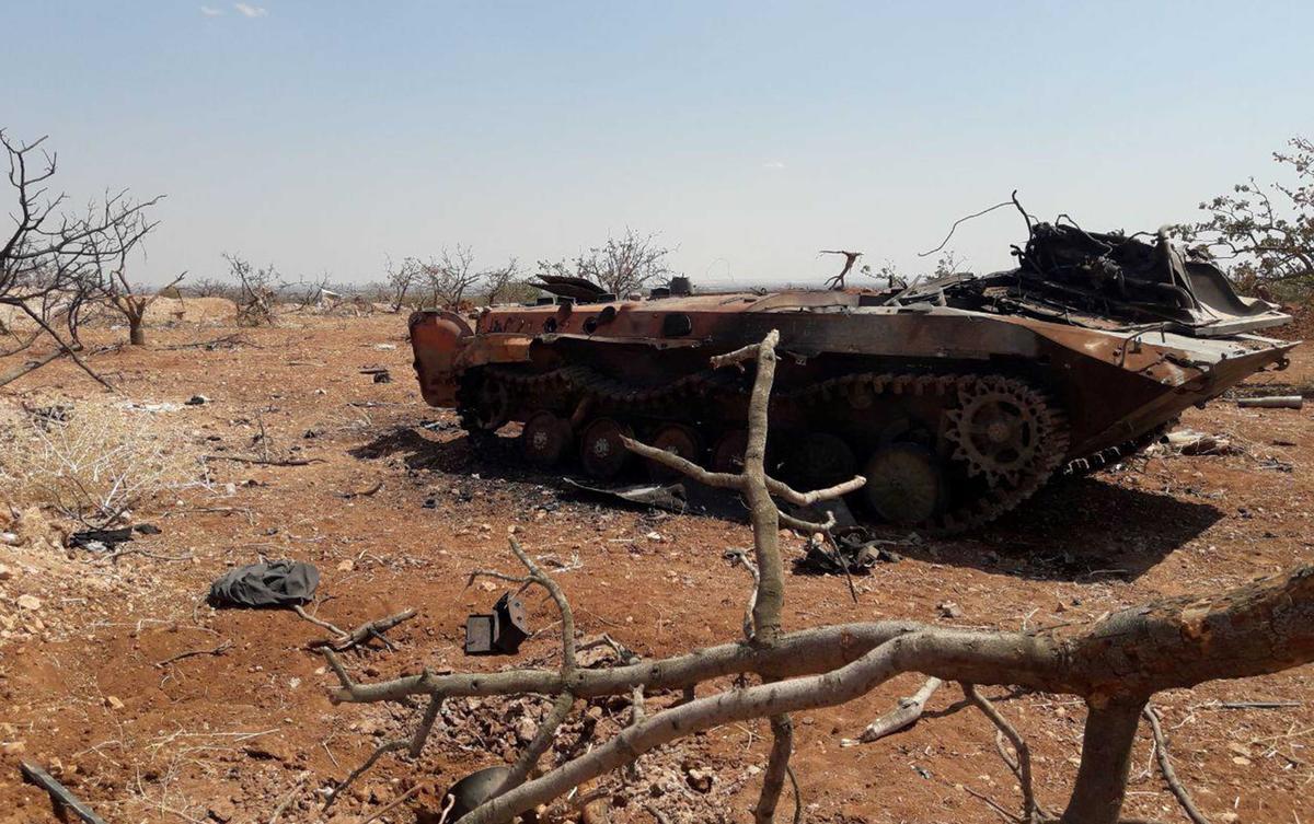 Die Siriese leër neem dorpe in die noordweste in wat rebelle jare aangehou het