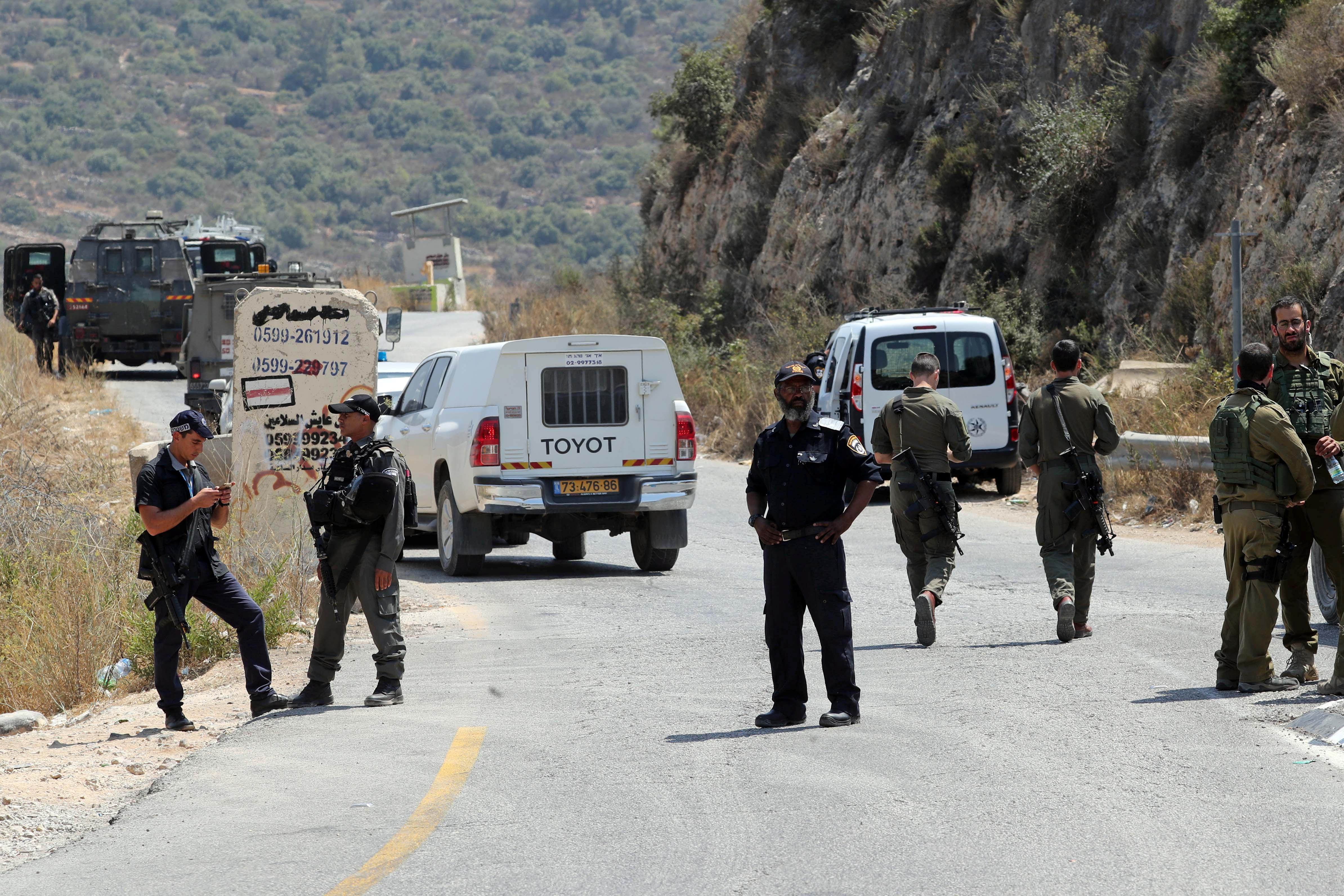 Israeli teenager killed by bomb near settlement: Israeli officials
