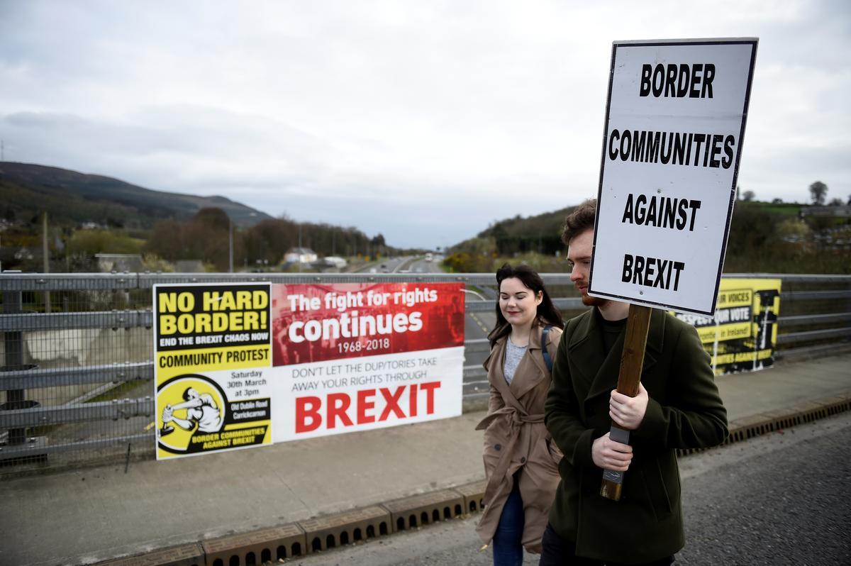 Aan Brittanje om Ierse grensoplossings voor te stel: Duitsland