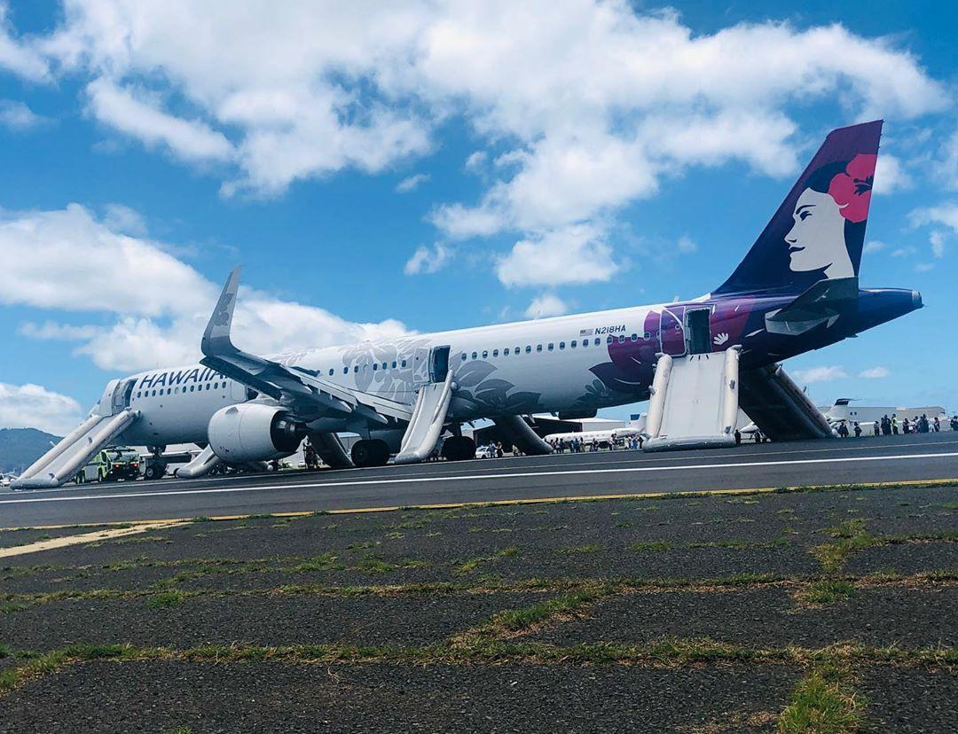 Smoke forces Hawaii Airlines Airbus to make emergency landing