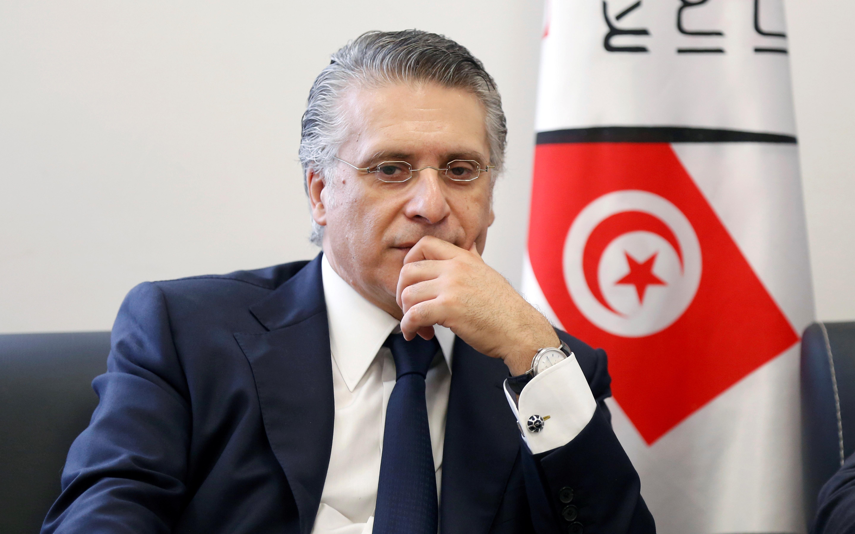 Tunisia's Karoui still presidential candidate despite arrest: electoral commission
