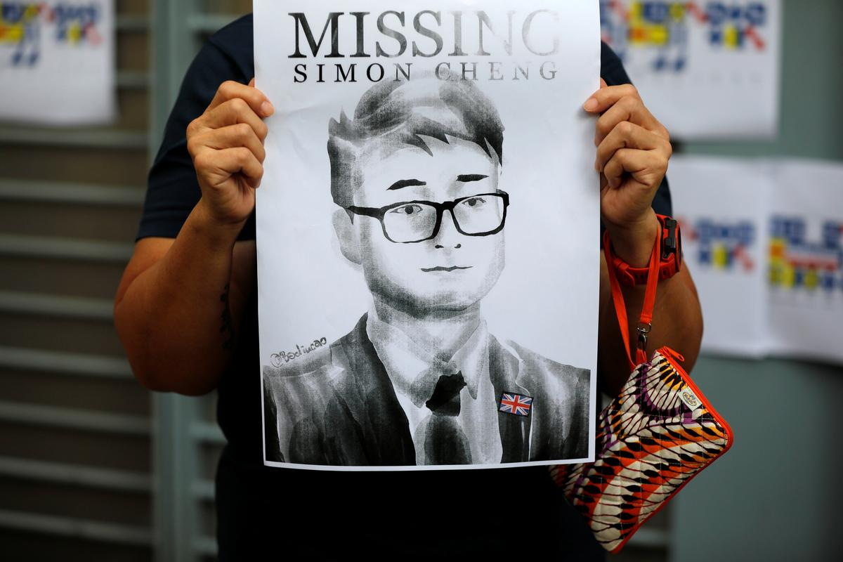 British government welcomes China's release of Hong Kong consulate employee
