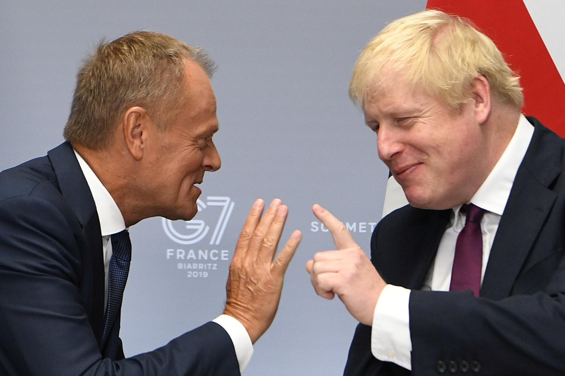 PM Johnson told Tusk: We leave EU on October 31 whatever the circumstances